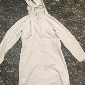 uniqlo blocktech rain coat